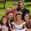 Family Celebrates Daughter's Quince Together