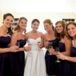 Beautiful Bride and Bridesmaids in Houston - Laurie Perez Photography