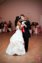 couple's first wedding dance