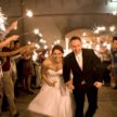 Houston Wedding Exit with Sparklers at Demers - Laurie Perez Photography