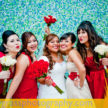 The Bride and her Bridesmaids - Houston Weddings at Demers