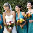Turquoise Wedding Color Trend in Houston, Texas