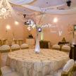 Autumn wedding setup - Party Cloths Houston