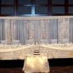 Baby Blue Wedding Backdrop