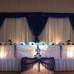 Blue & White Wedding Backdrop