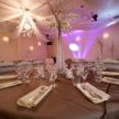 Brown and Pink Reception