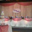 Cake Table and Event Backdrop