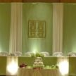 Cultural Monograms & Wedding Backdrop