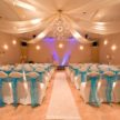 Demers Grand Ballroom with Turquoise Decor