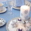 Demers Holiday Parties - Winter Candle Decor