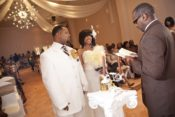 indoor wedding ceremony Houston