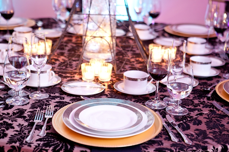 Banquet Table Setting Part - 18: Elegant Table Setting U2013 Melange Catering