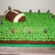 Football Groom's Cake for Weddings in Houston, TX