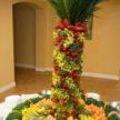 Fruit Sculpture for Fallon & Kriston Reception