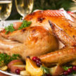 Holiday Parties - Roasted turkey at Demers