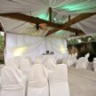 Outdoor ceremony setup - TechAVE The Audio Visual Event Expert/Sassani Photography
