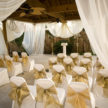 Outdoor Wedding Ceremony Seating at Demers