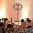 Parisian Tablescape - Black & White wedding Table Setup