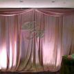 Pink / Lilac Backdrop and Wedding Monogram