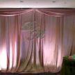 Pink / Lilac Backdrop and Wedding Monogram