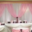 Pink & White Event Backdrop in Houston