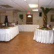 Pre-reception lounge