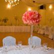 Pretty Pink Wedding Floral Centerpiece