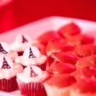 Red Velvet and Vanilla Bean Cupcakes