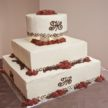 Simple Tiered Wedding Cake Houston