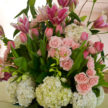 Spring Flower Bouquet Centerpiece