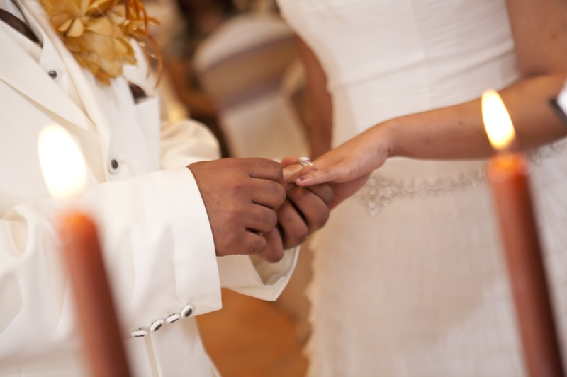 Wedding Ring Ceremony Exchange Vows