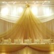 Yellow Wedding Backdrop