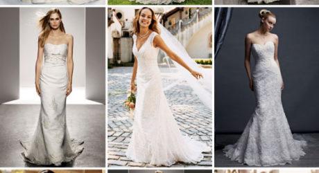 Shades Of White Wedding Dresses 19