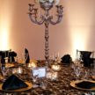 Parisian Tablescape at Demers Banquet Hall - Houston, TX