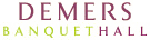 Demers Banquet Hall Mobile Logo