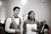 smiling wedding toast houston