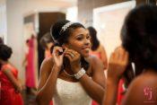 Bride getting ready Demers