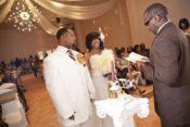 indoor wedding ceremony Houston
