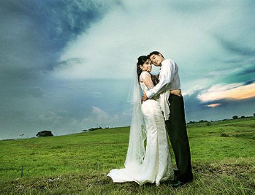 Outdoor Wedding Ceremony and Reception