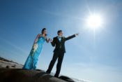 Galveston outdoors wedding