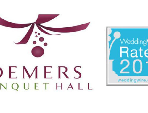Demers Banquet Hall gets WeddingWire Rated!